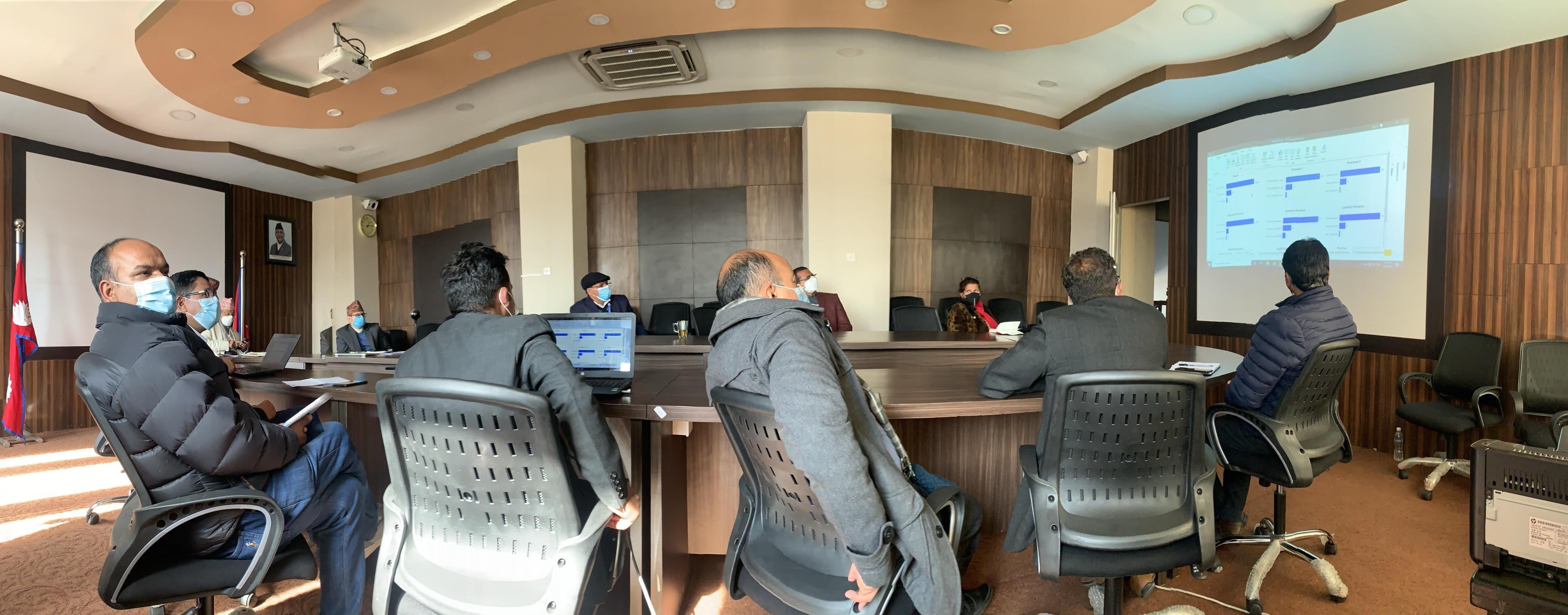 कोभिड -१९ ले लघु,घरेलु तथा साना उद्योग(SMES) मा पारेको  प्रभावबारे प्रस्तुतीकरण र छलफल।